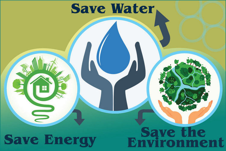 Practical ways to save water and electricity
